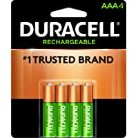 Duracell Pilas Recargable AAA, 4 Cuentas