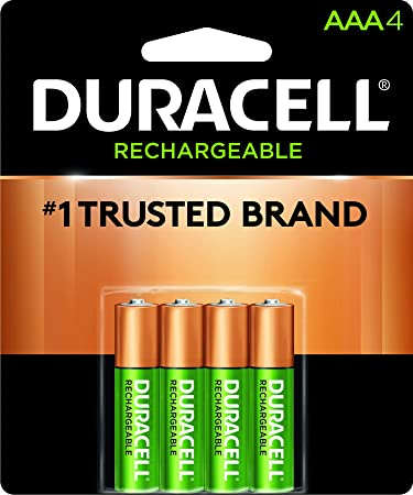 2f601b87f4d Duracell - Rechargeable AAA Batteries - long lasting, all-purpose Triple A battery  for