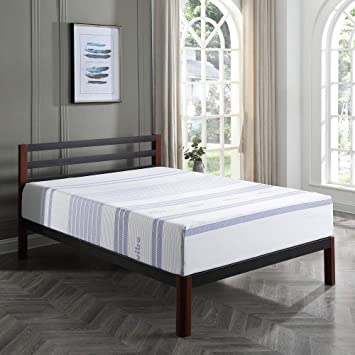 Amazon Com Classic Brands Vibe 12 Inch Gel Memory Foam Mattress
