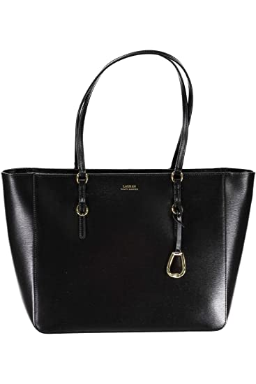 15f06c8a40 RALPH LAUREN 431687507001 BENNINGTON Bag Women NERO BLACK UNI  Amazon.co.uk   Shoes   Bags