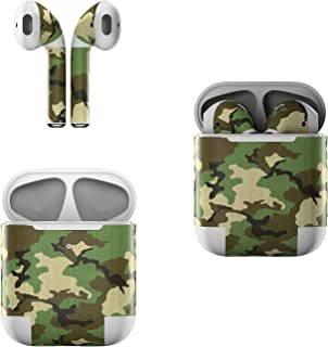 product image for Skin Decals for Apple AirPods - Woodland Camo - Sticker Wrap Fits 1st and 2nd Generation