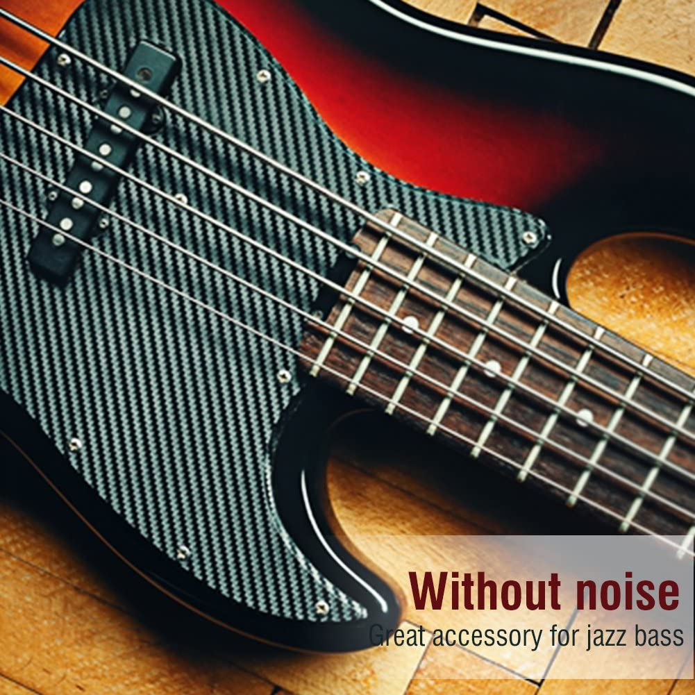 2Pcs Open Bridge Pickup Black for 5 String Jazz Bass JB Electric Bass Guitar Bass Pickup Humbucker Pickup