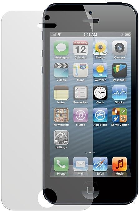 6 opinioni per dipos Pellicola protettiva per Apple iPhone 5 (confezione da 6 pezzi- 4x fronte,