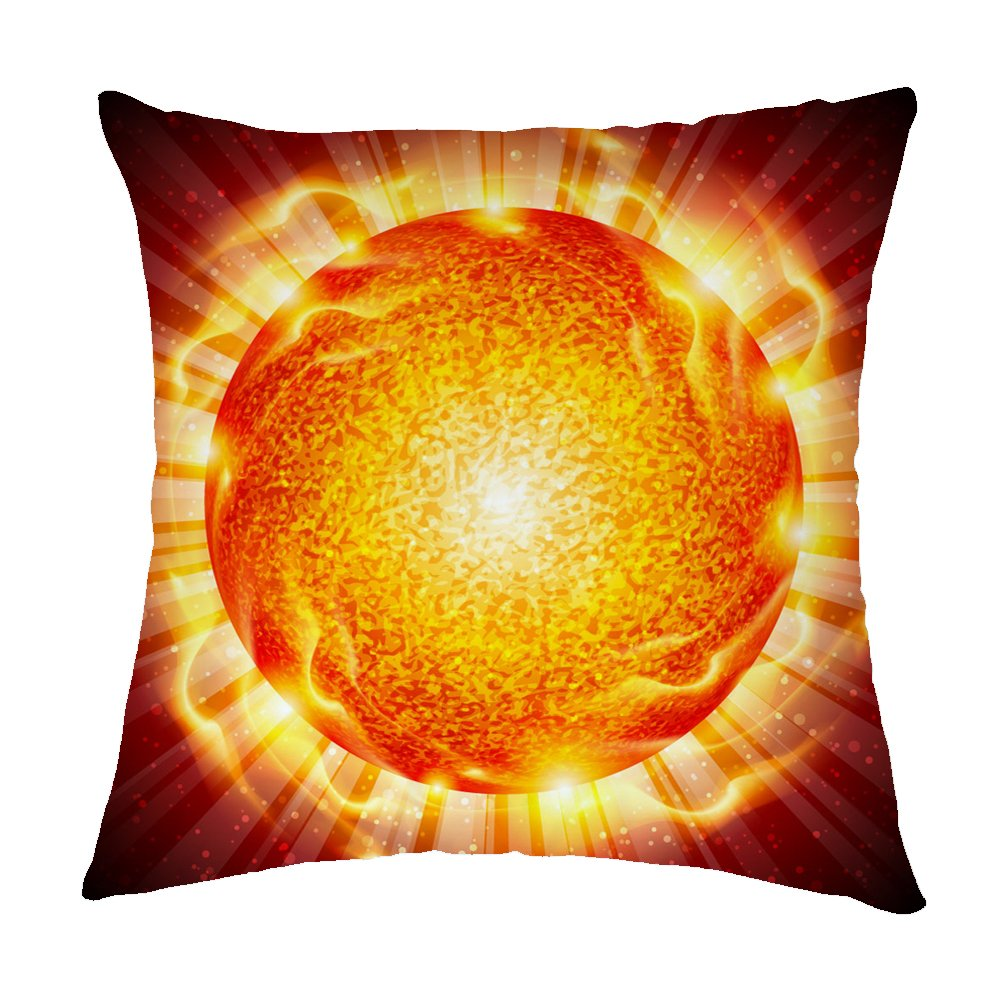 Amazon.com: Rosy Nubes Home Decor almohada, la quema bola de ...