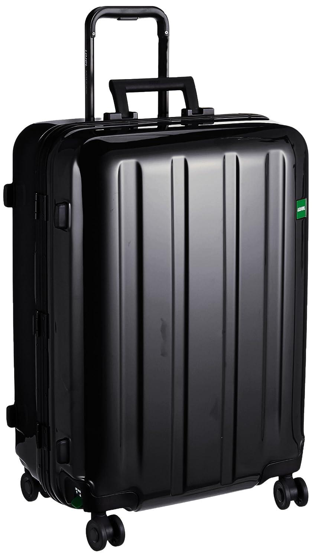[ロジェール] スーツケース 保証付 72L 66.5cm 5kg NOVIGO-M B0763M8B9Zブラック