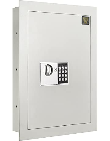 7700 Flat Electronic Wall Safe .83 CF for Large Jewelry Security-Paragon Lock &