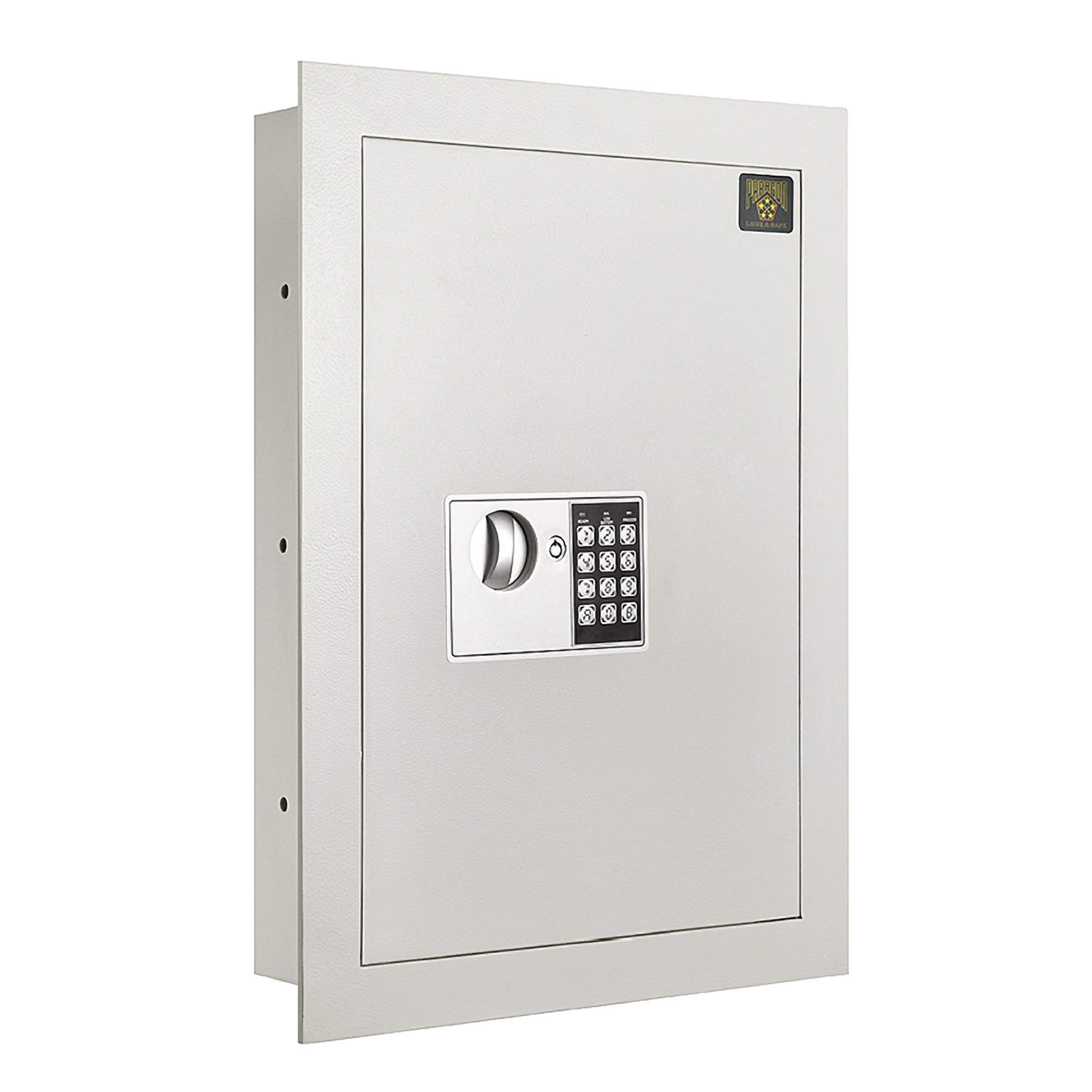 7700 Flat Electronic Wall Safe .83 CF for Large Jewelry Security-Paragon Lock & Safe by Paragon Lock and Safe