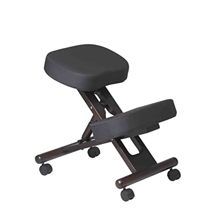 amazon com office star ergonomically designed knee chair with