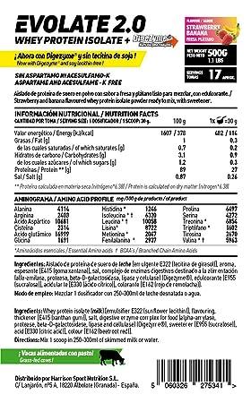 HSN Sports Proteína Aislada de Suero Sabor Chocolate Blanco y Coco - 500 gr
