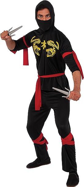 Rubbies - Disfraz de ninja para niño, talla única (55026STD ...