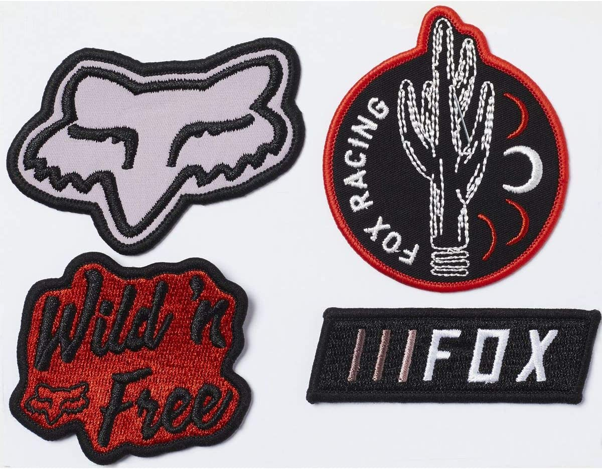 Fox Character Iron On Patch