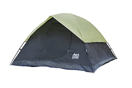 074a893f3c Amazon.com : World Famous Sports 3-Person Camping Tent : Family ...