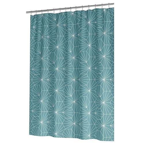 Ideal Textiles Geometric PEVA Shower Curtain Luxury Geo Design Waterproof Curtains Panels 12