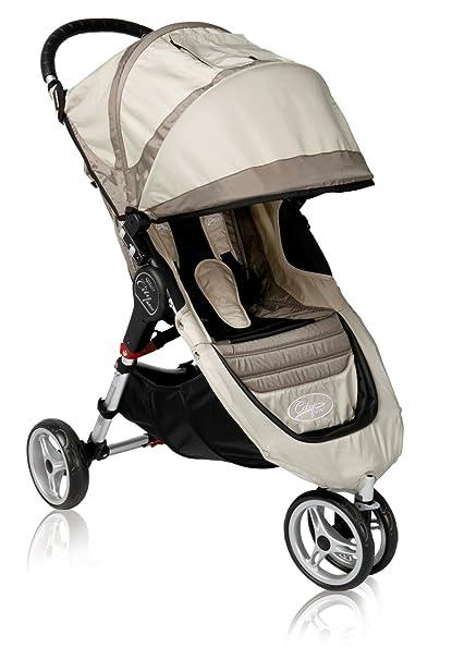 Baby Jogger City Mini cochecito 4 ruedas Sand/Stone: Amazon ...