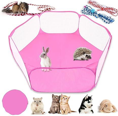 clifcragrocL Recinto Small Animals Box Pieghevole Pet Impermeabile e Traspirante Tenda Pet