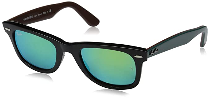 3da36346a Amazon.com: Ray-Ban RB2140 Wayfarer Sunglasses, BLACK, 50 mm: Ray ...