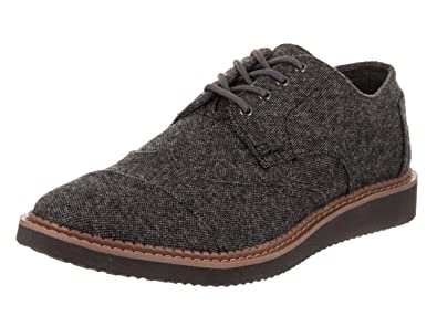 TOMS Men s Brogue Charcoal Oxford Shoe 8 Men US 1a1239a886