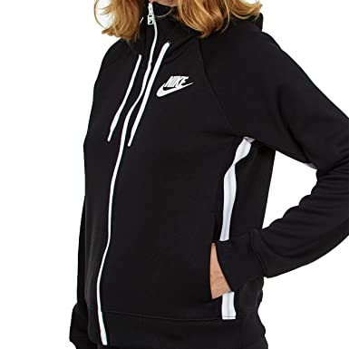 201c3b999be7b Nike Women's Sportswear Full-zip Pk Hooded Jacket: Amazon.co.uk: Clothing