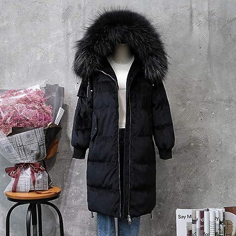 precio limitado obtener online diseño moderno GUXIU Chaqueta de Abajo Blanca Mujer Abrigo de Plumas de ...