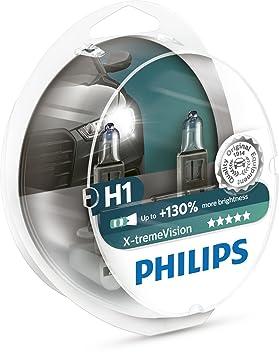 d484f00408e Philips Xtreme Vision +130% H1 12258XV+S2 Headlight Bulbs (Twin Pack of  Bulbs), Headlight Bulbs - Amazon Canada