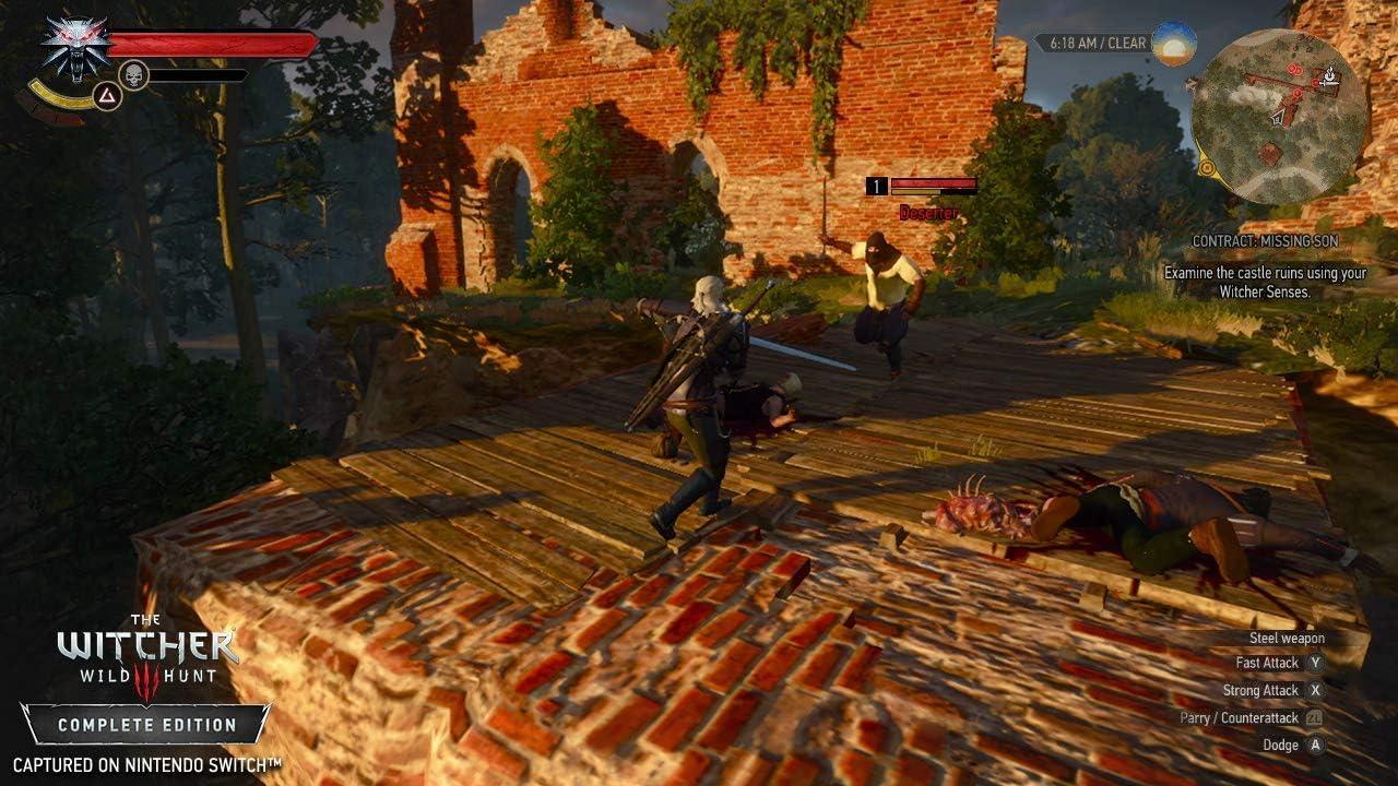The Witcher 3 Wild Hunt Complete Edition - Nintendo Switch [Importación inglesa]: Amazon.es: Videojuegos