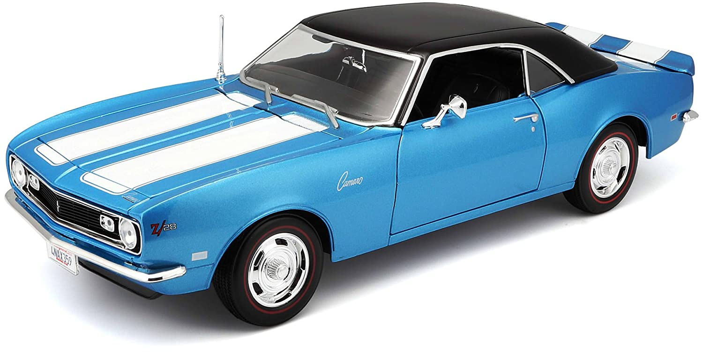 1968 Chevrolet Camaro Z28 Coupe Maisto 1:18 Scale Diecast Model Maroon