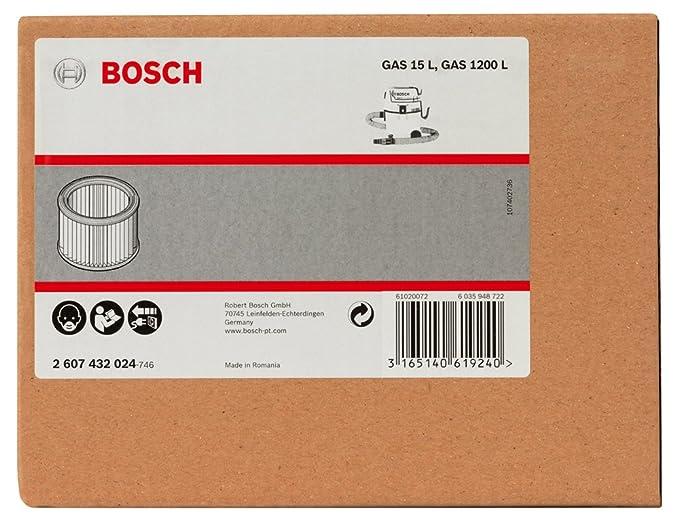 Amazon.com: Bosch GAS - Aspiradora de 15 L para aspiradoras ...