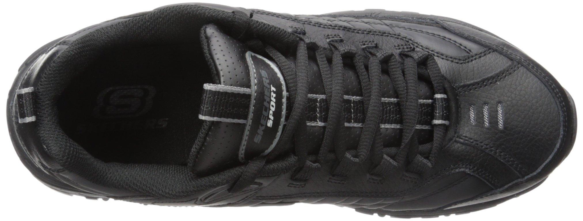 Skechers Sport Men's Energy Afterburn Lace-Up Sneaker,Black,13 M by Skechers (Image #8)