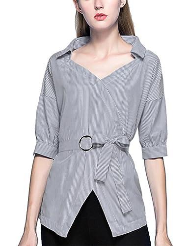 CIDEARY - Camisas - Rayas - para mujer