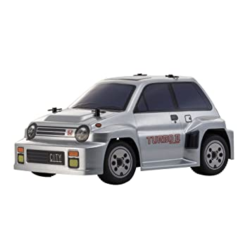 Amazon.com: Comic Racer MB-011 + D ASF Body / Chassis Set Honda City Turbo II Silver [Accessories drift tire set] 32253BCS: Toys & Games