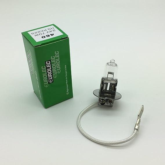 RING AUTOMOTIVE R460 460 24V 70W H3 PK22s HALOGEN HEADLAMP BULB 10 PACK