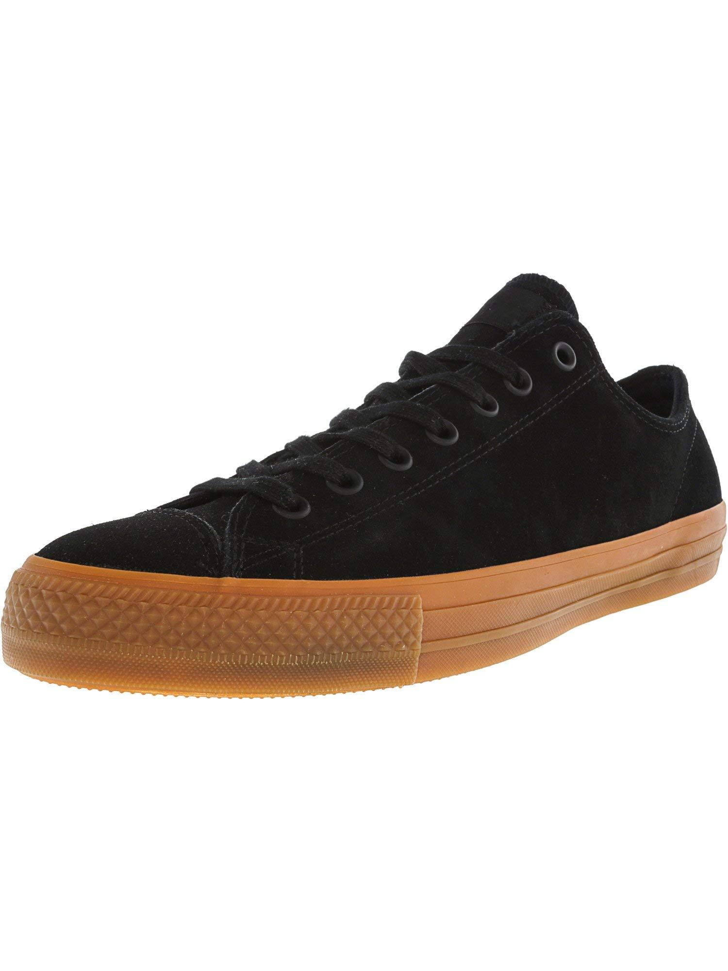 303e04a4da36cd Galleon - Converse Chuck Taylor All Star Pro Ox Black Ankle-High Leather  Fashion Sneaker - 14M 12M