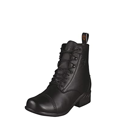 b45abd64b6a Amazon.com | ARIAT Women's Heritage Paddock Lace-Up Riding Boot Round Toe |  Ankle & Bootie