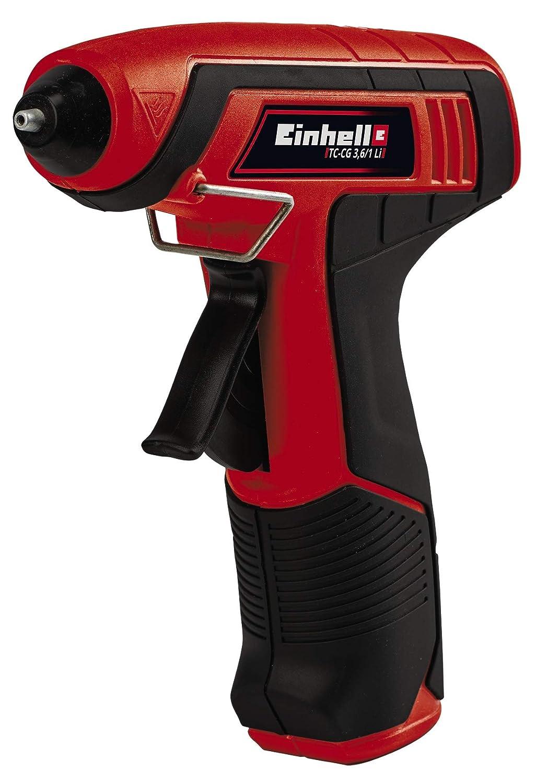 Einhell 4522190 TC-CG Pistola incollatrice a batteria agli ioni di litio 3,6//1