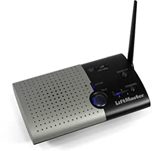 LIFTMASTER Intercom 833-1LM Single Unit Portable - Garage ...