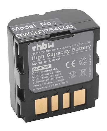 Bateria jvc bn-vf707 bn-vf714 bn-vf733 gr-d239//e