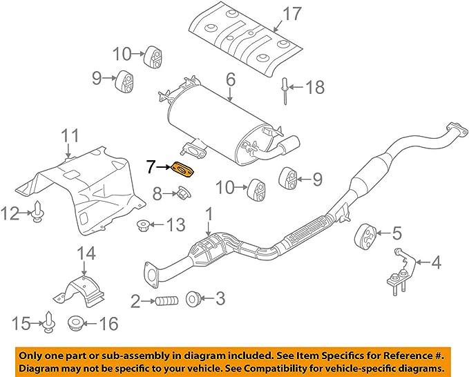 Mazda B322-40-305 Catalytic Converter Gasket