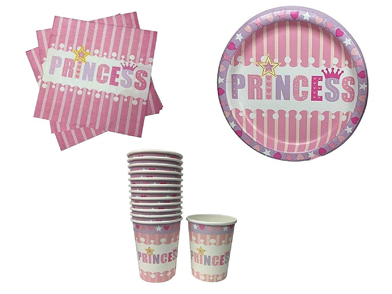 Princess Party Bundles for 12 Guests
