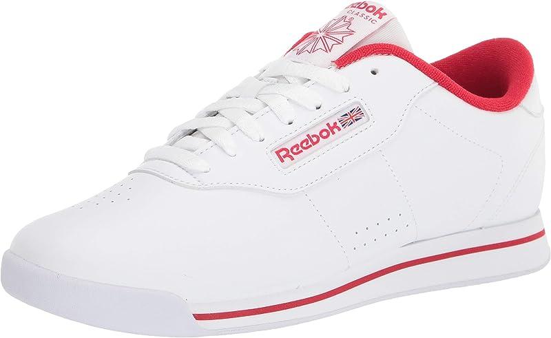 Reebok Princess Sneakers Damen Weiß Vektor Rot