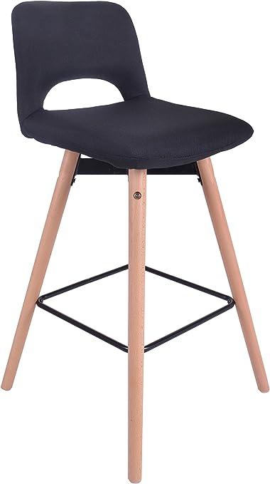 ts-ideen Chaise Design Classique Tabouret Retro Années 50 Cuisine Bistro Salon
