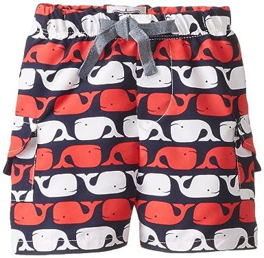 f1a00d03d0 Amazon.com: Mud Pie Baby Boys' Whale Swim Trunks: Clothing
