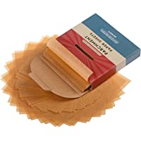 4x4 Inch 300 Sheets Parchment Paper Squares by Baker's Signature | Silicone Coated & Unbleached – Ideal for Baking…