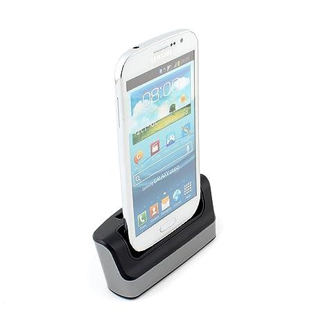 SYMTOP Estación Dock Cargador Sync Dual USB para Samsung ...