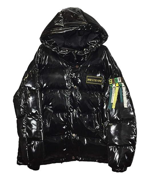 478a6d69b63b Zara Women Vinyl-Effect Puffer Jacket 6318 223 (Small) Black  Amazon ...