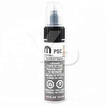 Dodge Chrysler & Jeep MOPAR Touch Up Paint 0 5oz Bottle PSC / JSC (3738)  Billet Silver Metallic