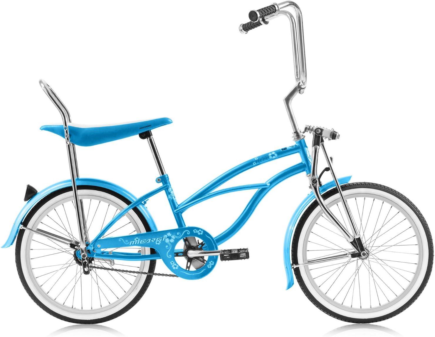"Black Lowrider Bicycle Cruiser 20/"" long Sissy Bar 4-16/"" or 12/"" Bike Frames"