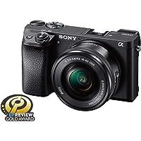 Sony Alpha a6300 Mirrorless Digital Camera with E PZ 16-50mm F3.5-5.6 OSS Power Zoom Lens (Black)