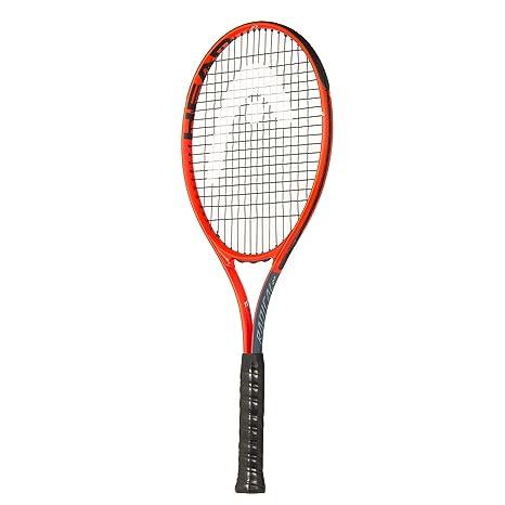 HEAD Radical Raqueta de Tenis, Unisex Adulto, Gris y Naranja, 68,58 cm
