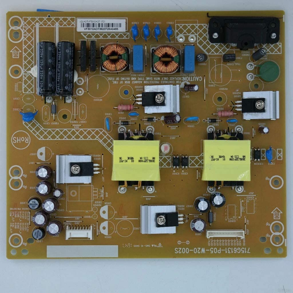 Vizio ADTVF3010AD7 Power Supply Television Replacement Parts ...