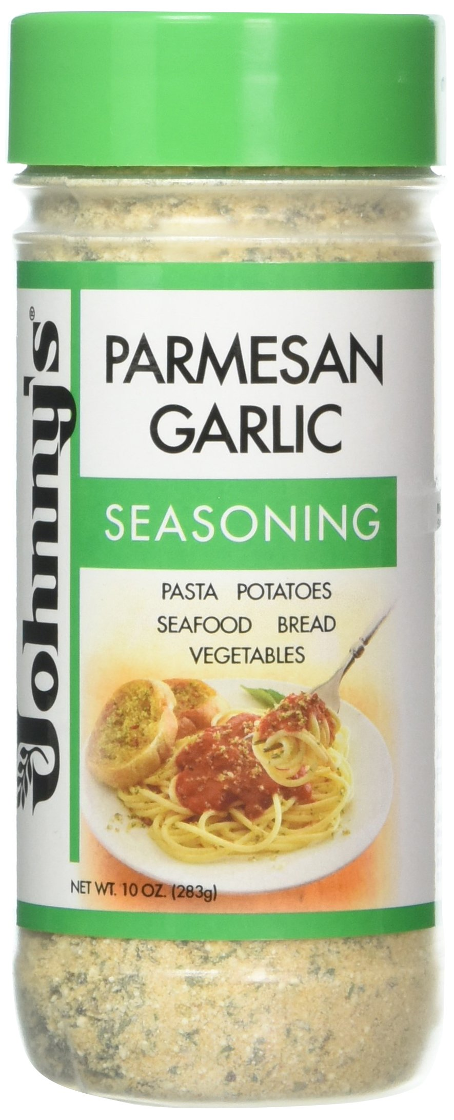 Johnny's Garlic Spread and Seasoning, 10 Ounce (Pack of 6) by Johnny's